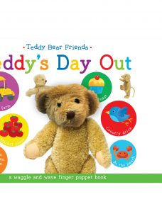 Teddy's Day Out Finger Puppet Children's Board Book