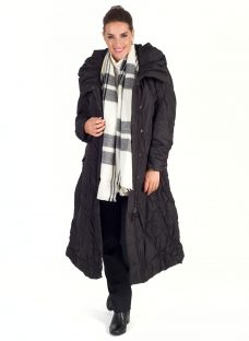 Chesca Check Blanket Scarf