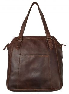 Fat Face Tilly Oiled Leather Tote Bag
