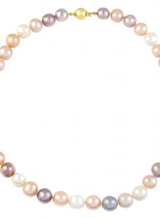 A B Davis 9ct Gold Pearl Necklace