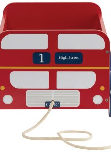 Great Little Trading Co London Bus Book Storage Box Cart