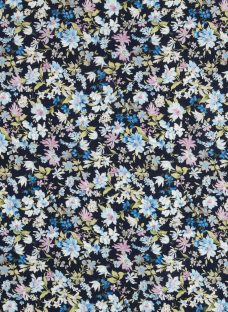 Sevenberry Bluebell Watercolour Fabric