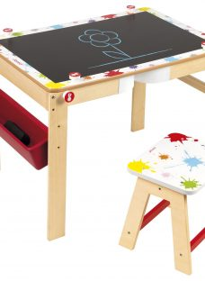 Janod Splash 2 in 1 Wooden Desk