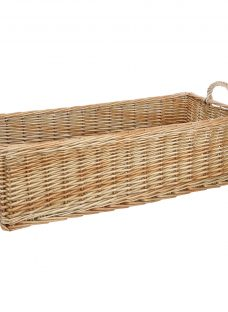 Croft Collection Willow Shallow Basket