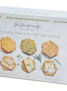 Artisan Biscuits The Fine Cheese Co. Flavoured Crackers Tin