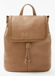AND/OR Isabella Leather Whipstitch Backpack