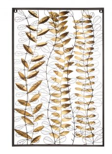 John Lewis Framed Leaves Wall Sculpture