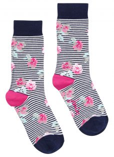 Joules Brilliant Bamboo Floral Socks