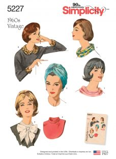 Simplicity 1960s Vintage Accessories Sewing Pattern
