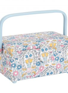 John Lewis Daisy Chain Medium Sewing Basket