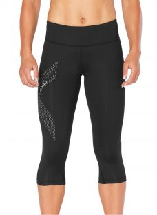 2XU Mid Rise Compression 3/4 Training Tights