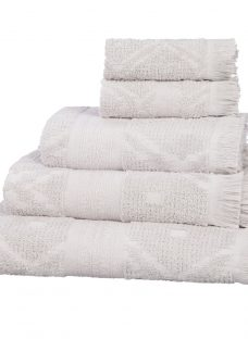 John Lewis & Partners Fusion Mahal Carved Cotton Towels