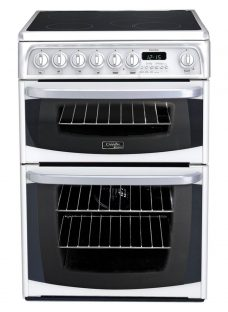 Hotpoint Cannon CH60EKWS Electric Cooker