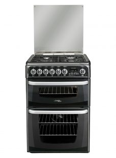 Hotpoint Cannon CH60DHKFS Dual Fuel Cooker
