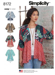 Simplicity Misses' Women's Jacket Sewing Pattern
