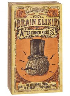 Clarendon Games Brain Elixir After Dinner Riddles Game