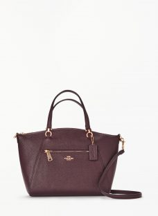 Coach Prarie Leather Satchel Bag