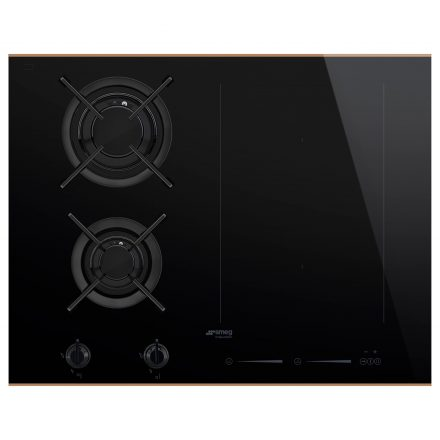 Smeg PM6621WLDR Induction and Gas Mixed Hob