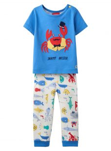 Baby Joule Doodle 2-Piece T-Shirt and Leggings Set