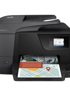 HP OfficeJet Pro 8715 All-in-One Wireless Printer & Fax Machine with Touch Screen