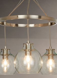 Croft Collection Selsey Semi Flush