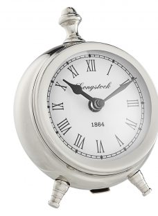 John Lewis & Partners Small Round Table Clock