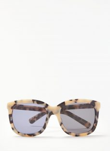 AND/OR Marble Effect Square Sunglasses