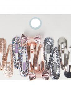 John Lewis & Partners Girls' Sparkly Hair Clips