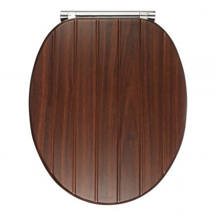 John Lewis & Partners Bali Antibacterial Soft Close Toilet Seat