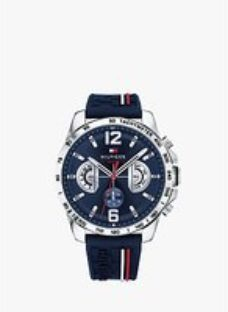 Tommy Hilfiger 1791476 Men's Chronograph Silicone Strap Watch