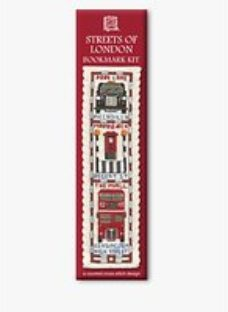 Textile Heritage Streets of London Bookmark Counted Cross Stitch Kit