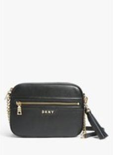DKNY Polly Leather Camera Bag