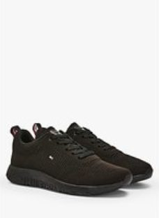 Tommy Hilfiger Corporate Knit Rib Runner Trainers