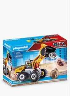 Playmobil City Action 70445 Front End Loader