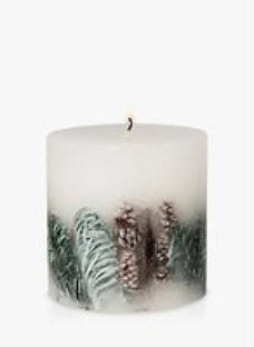John Lewis & Partners Frosted Spruce Inclusion Scented Candle
